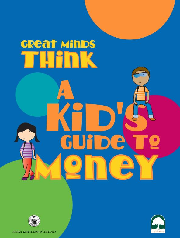 a kids guide to money booklet picture cover