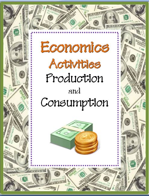 Production & Consumption Economics Activities~ These easy-to-use, no-prep, printables are great to introduce or review goods and services. Companion products also available.