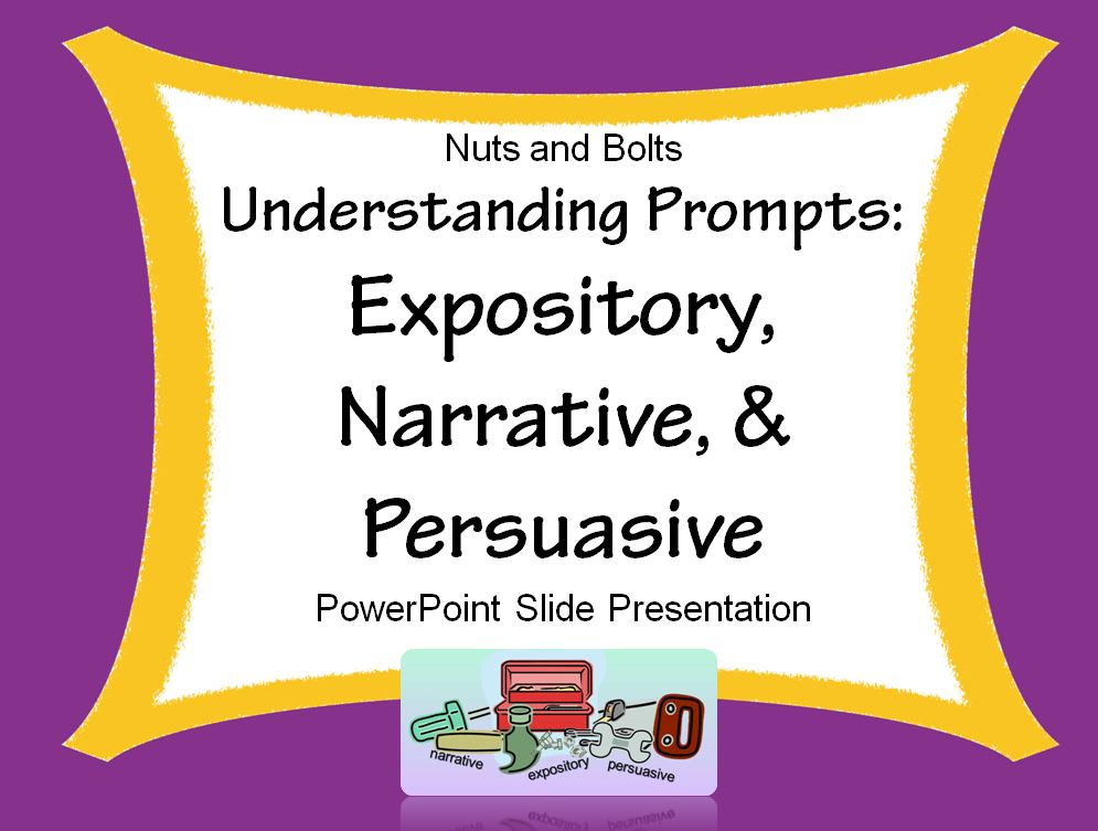 What is expository writing powerpoint