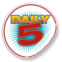 FREE Online Resource~ Learn more about the Daily 5. This site has links to introduce the program, download a charting template, and select from among several lesson plans. Also has a long list of writing prompts and SMART Board downloads. Lots of information in one spot!