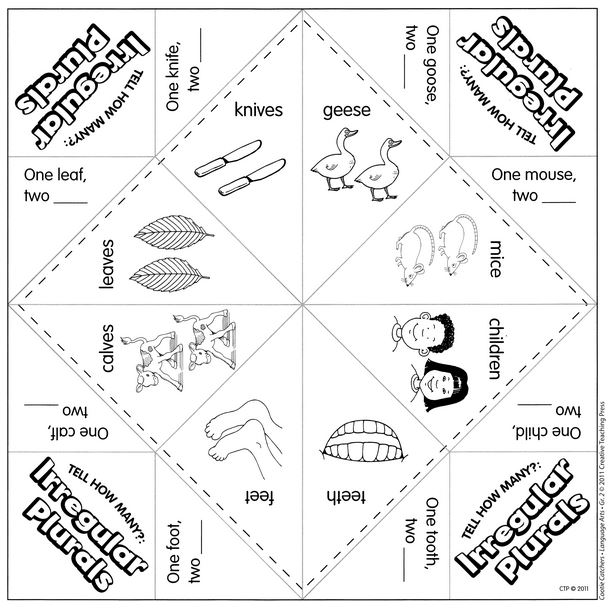 Teaching With Cootie Catchers  LessonsNow