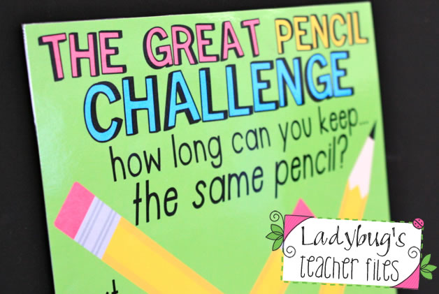 FREE Pencil Management Idea~ Finally an easy, fast idea that works! The teacher puts each student's number on their pencil and they are challenged to keep it throughout the week. At Friday's check-in students who have succeeded are acknowledged, and those who need a new pencil get one. Done! Read more about it and get the free downloads at Ladybug's Teacher File TpT store!