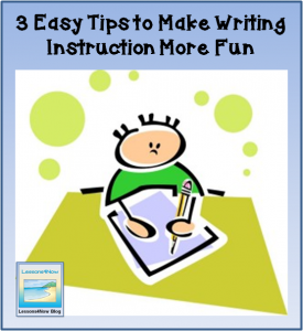 three easy tips writing fun