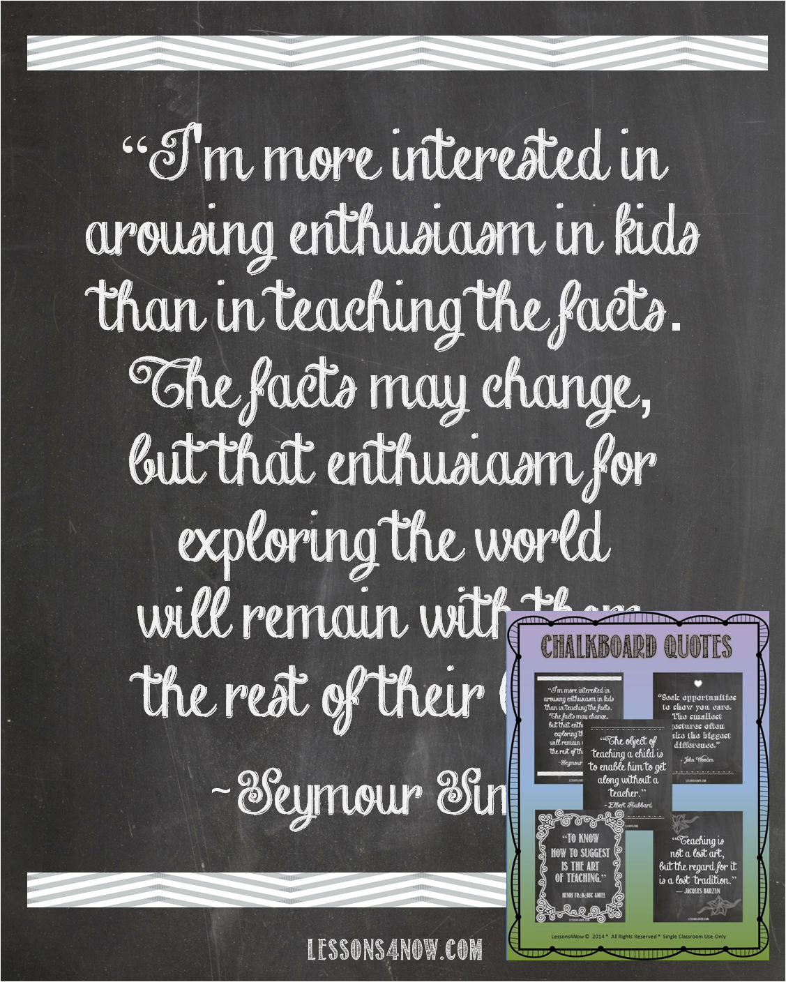 Teaching Quotes Chalkboard Quotes Free Printables  Lessons4Now