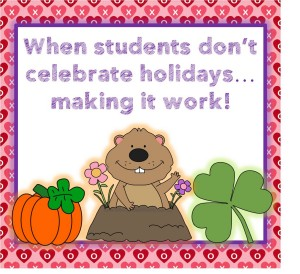 when students do not celebrate holidays smaller pin